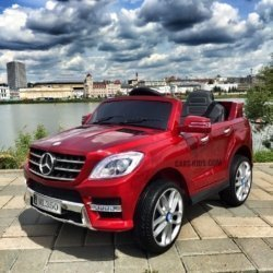 электромобиль Mercedes Benz ML350 красный